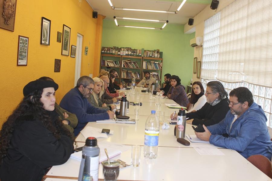 """Pereira: """"El movimiento sindical no puede bajar las banderas de justicia social"""""""