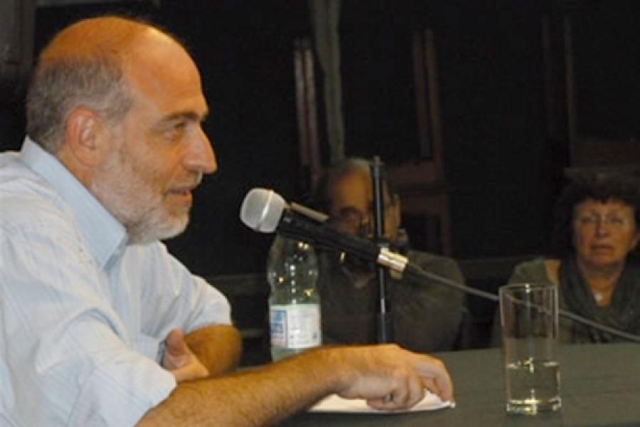 Activista por la paz israelí – palestina participa en intercambio de opiniones en el PIT-CNT