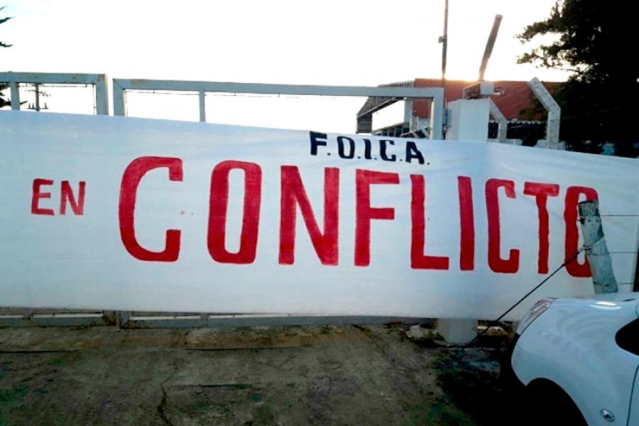 FOICA: Paralización llegó al 93%