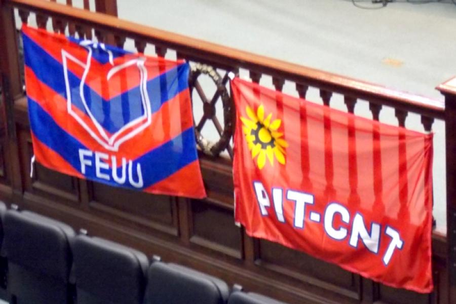 """Mauro Conti (FEUU): """"El PIT-CNT es un faro"""""""