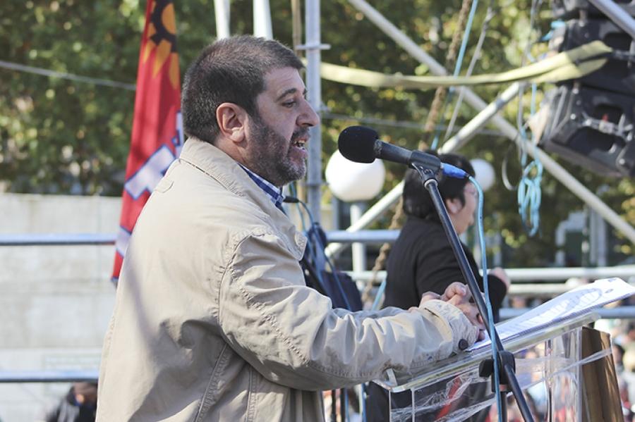 """Fernando Pereira: """"No vamos a renunciar ni un solo día, a la verdad, a la justicia y al nunca más"""""""