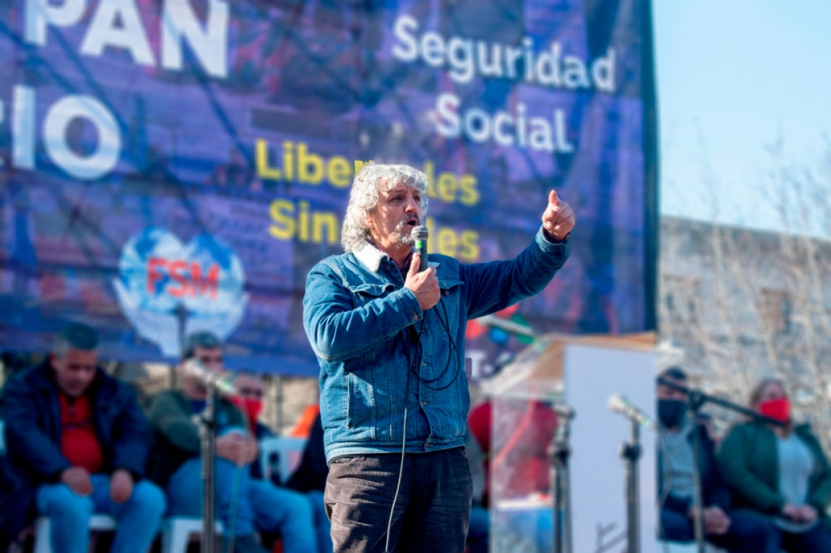 """Daniel Diverio (SUNCA): """"La movilización y la lucha de los trabajadores es la que paga"""""""
