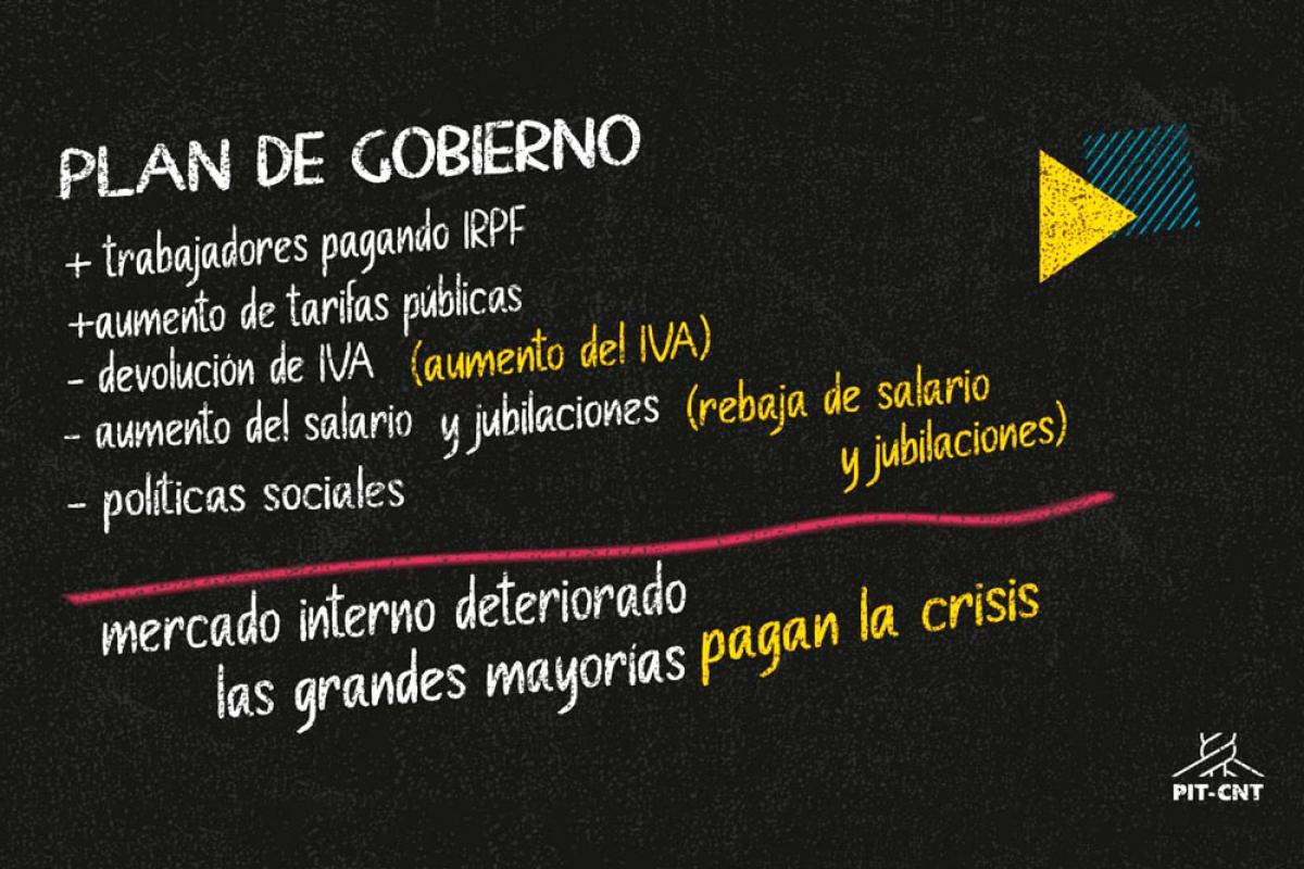"""Ec. Bruno Giometti (Cuesta Duarte): """"Un nuevo golpe al salario y a los sectores populares"""""""